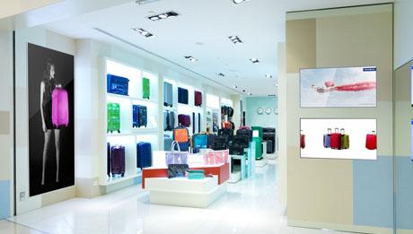 Marketing and advertising digital signage
